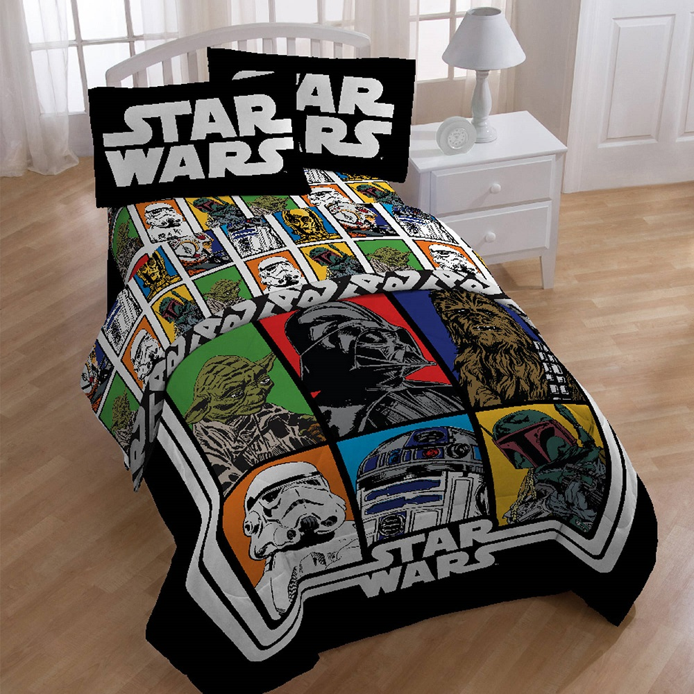 Image of: Star Wars Bed In A Bag Full