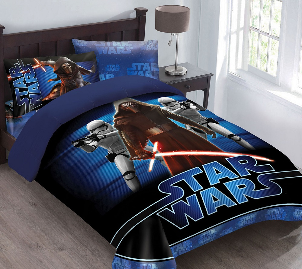 Image of: Star Wars Bed In A Bag Twin