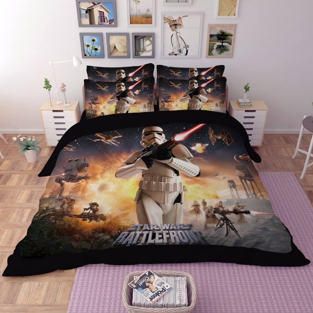 Image of: Star Wars Bedding Pottery Barn