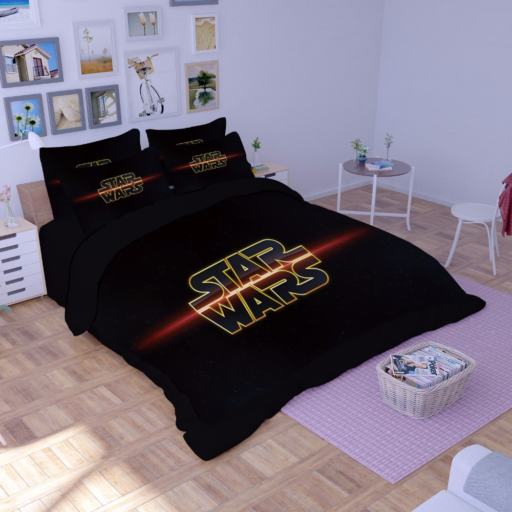 Image of: Star Wars Twin Comforter