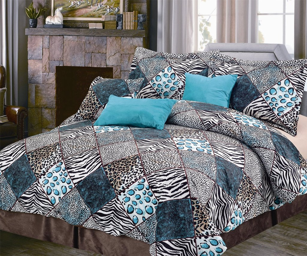 Image of: Turquoise Bedding Set Full Size Coral Turquoise Best Teen Girl Bedding Sets