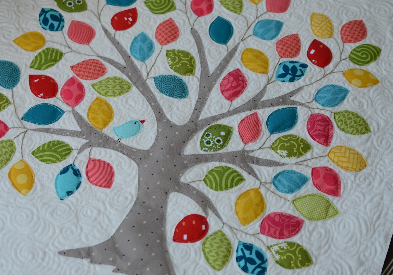 Applique Quilt Patterns Tree