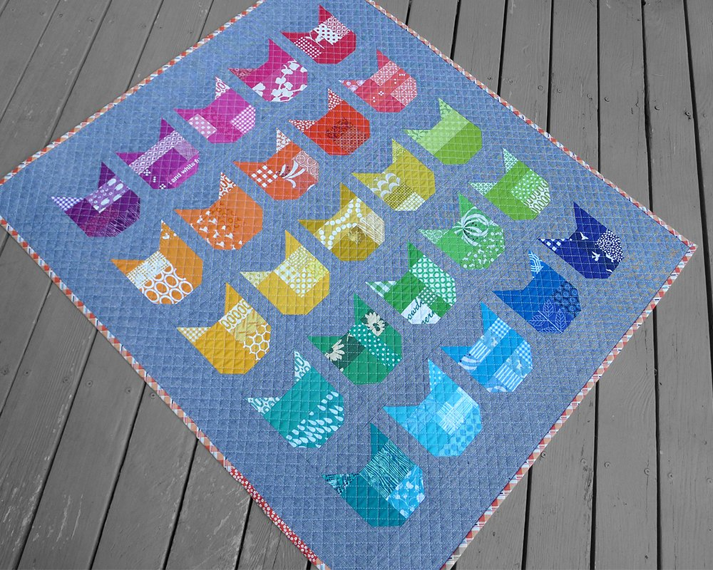 Cat Quilt Patterns Simple