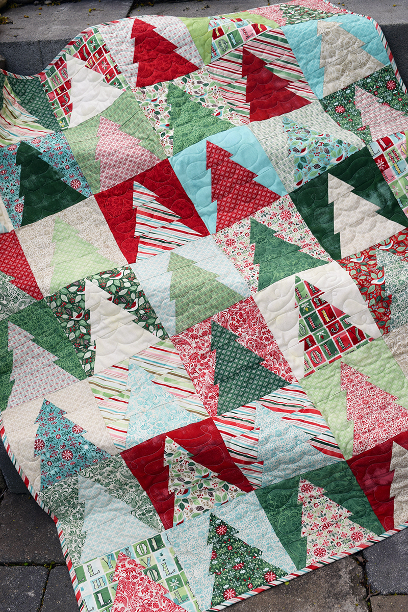 Christmas Tree Quilt Patterns Block