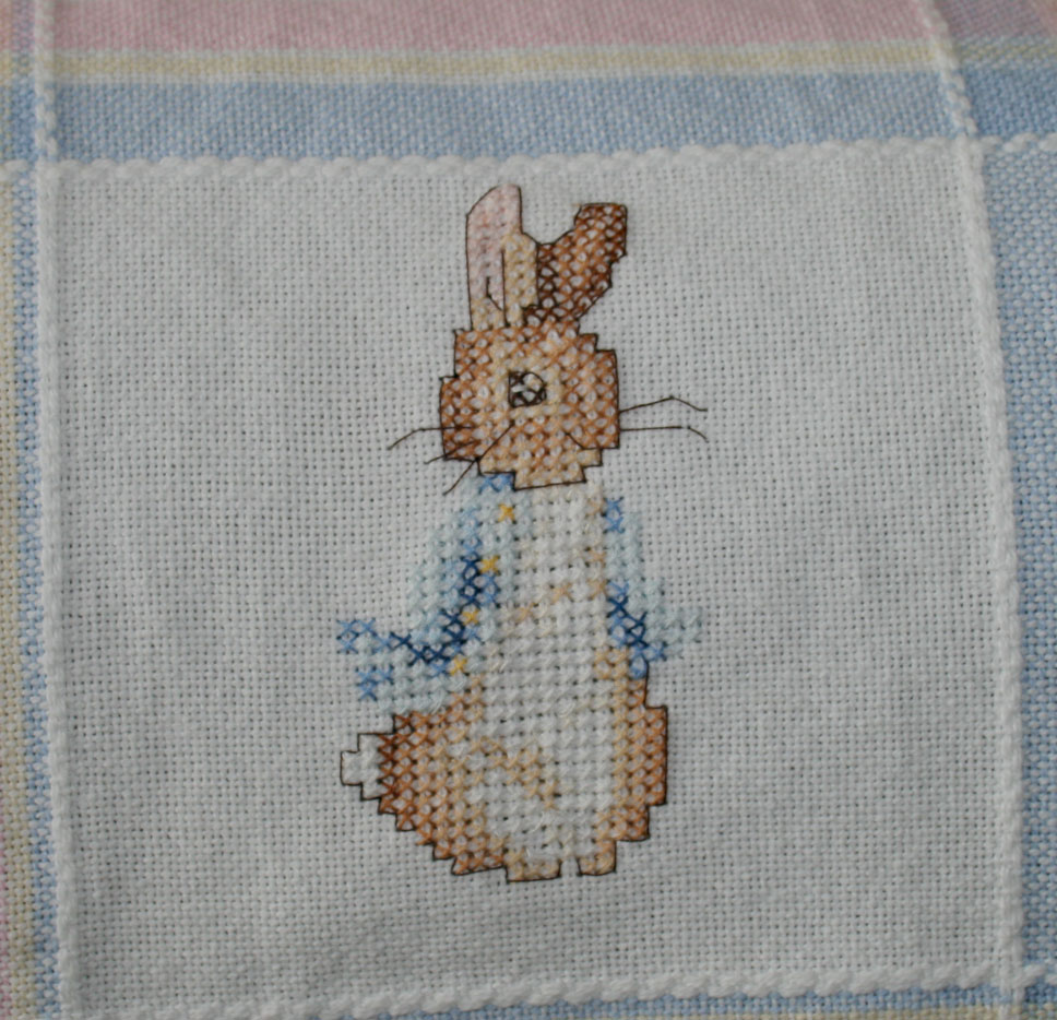 Cosy Cross Stitch Baby Quilts