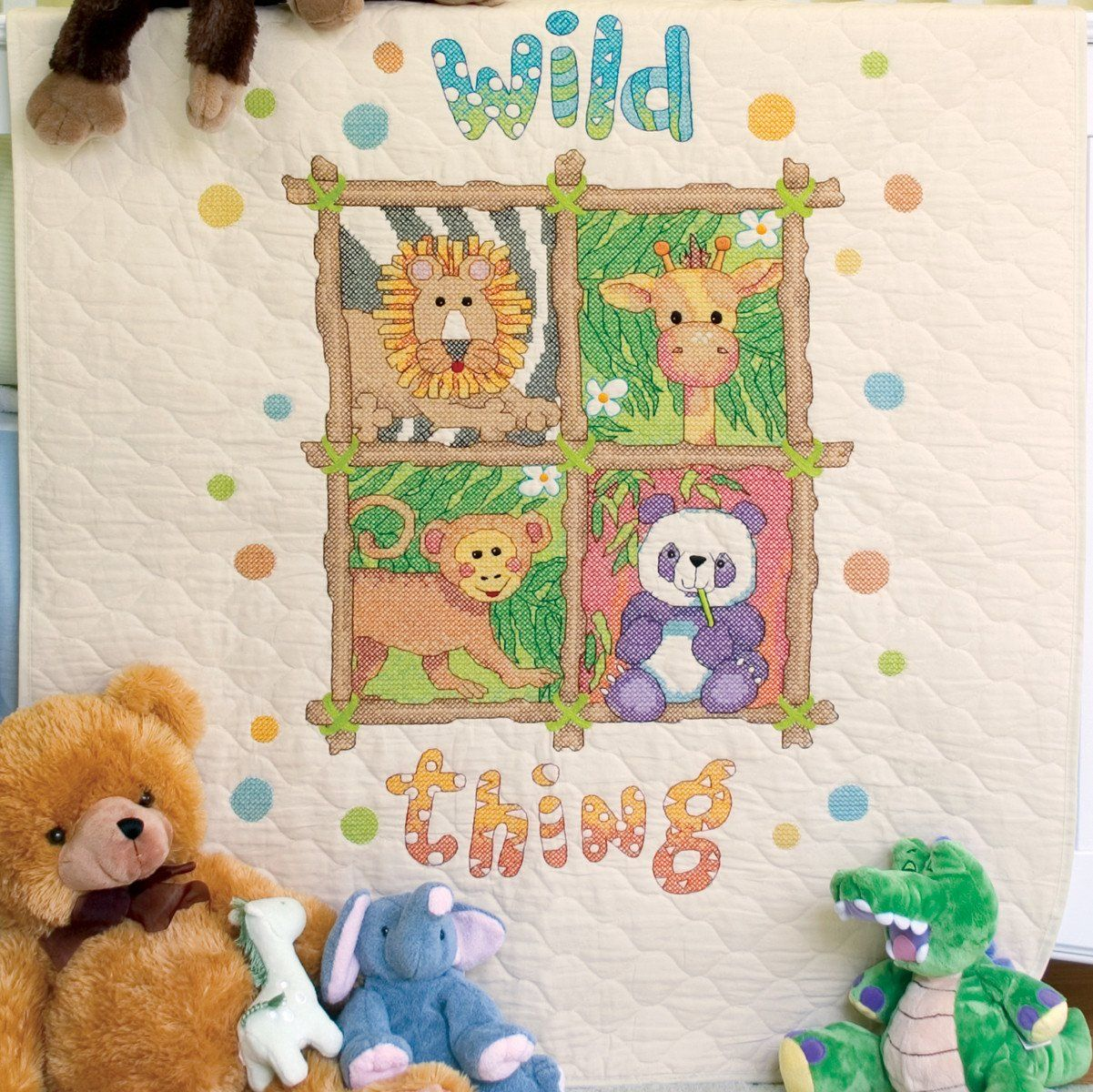 Cross Stitch Baby Quilts Disney Kit