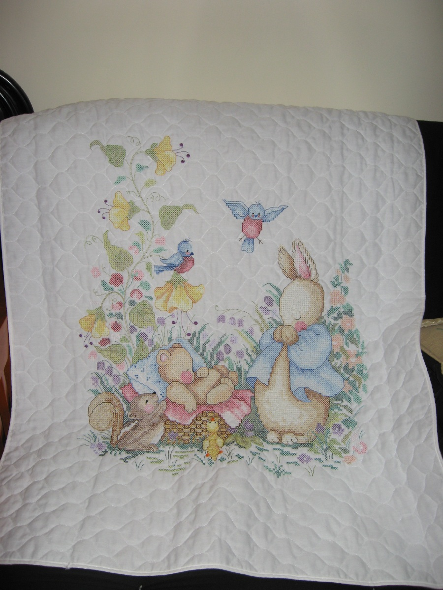 Cross Stitch Baby Quilts Project
