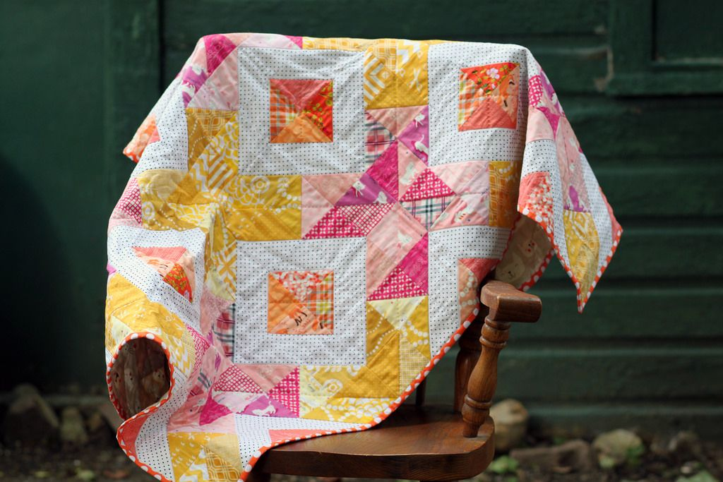 Image of: Cross Stitch Baby Quilts Sparkle