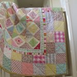 Handmade Quilted Baby Blanket