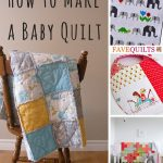 How to Make Elephant Baby Quilt