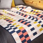 Modern Baby Quilt Fabric Panels
