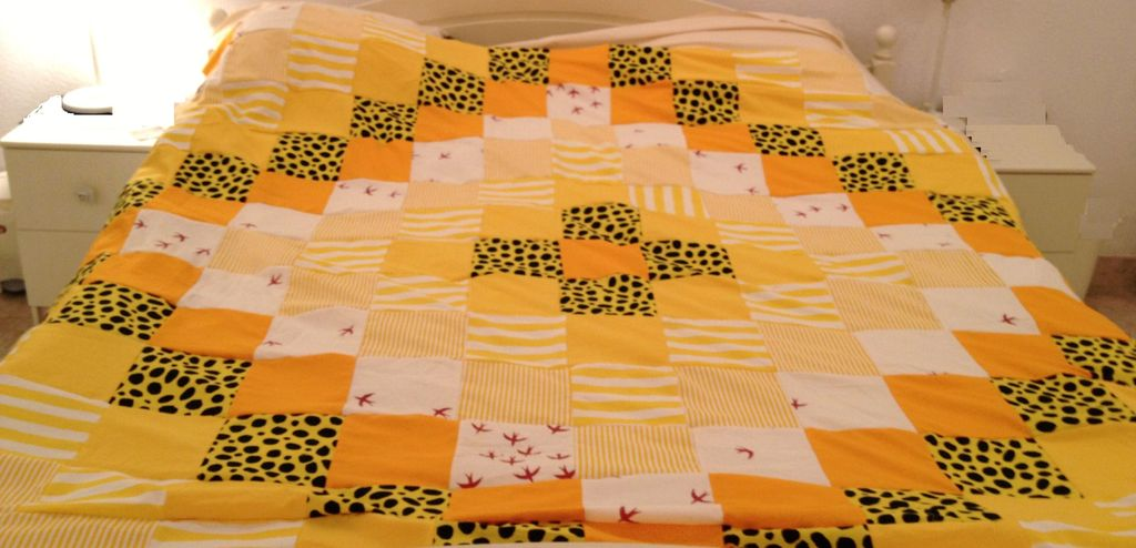 Quilt Square Patterns Yellow