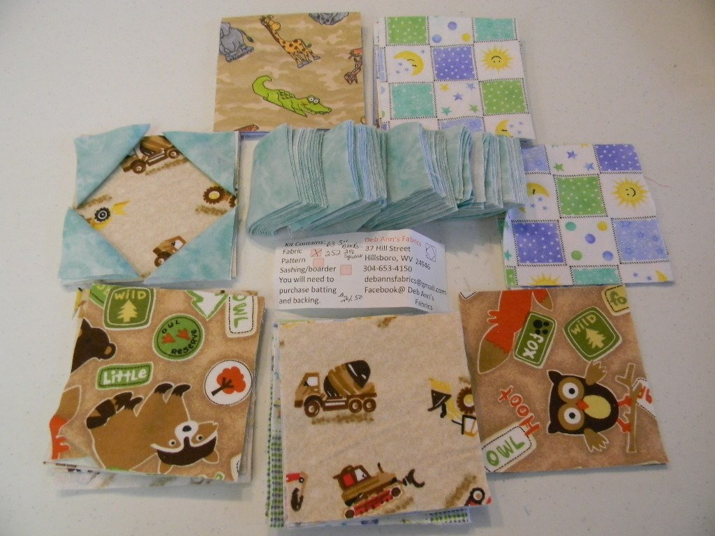 Remodel Baby Boy Quilt Kits