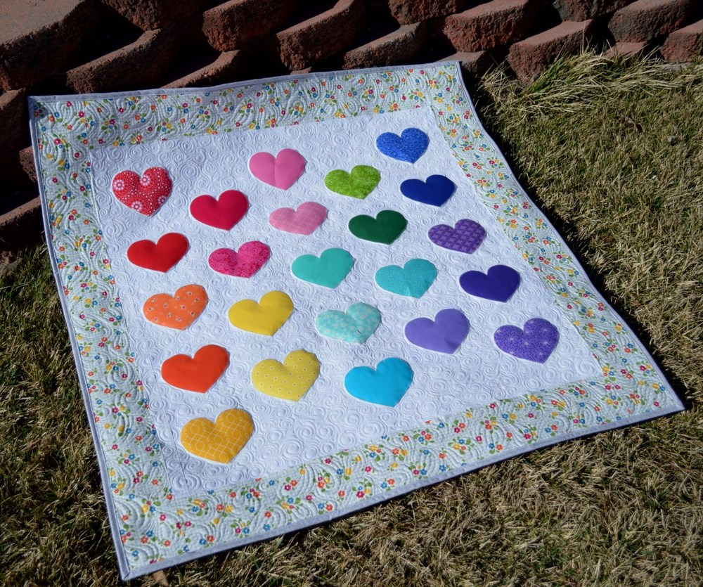 Small Baby Quilt Fabric Panels
