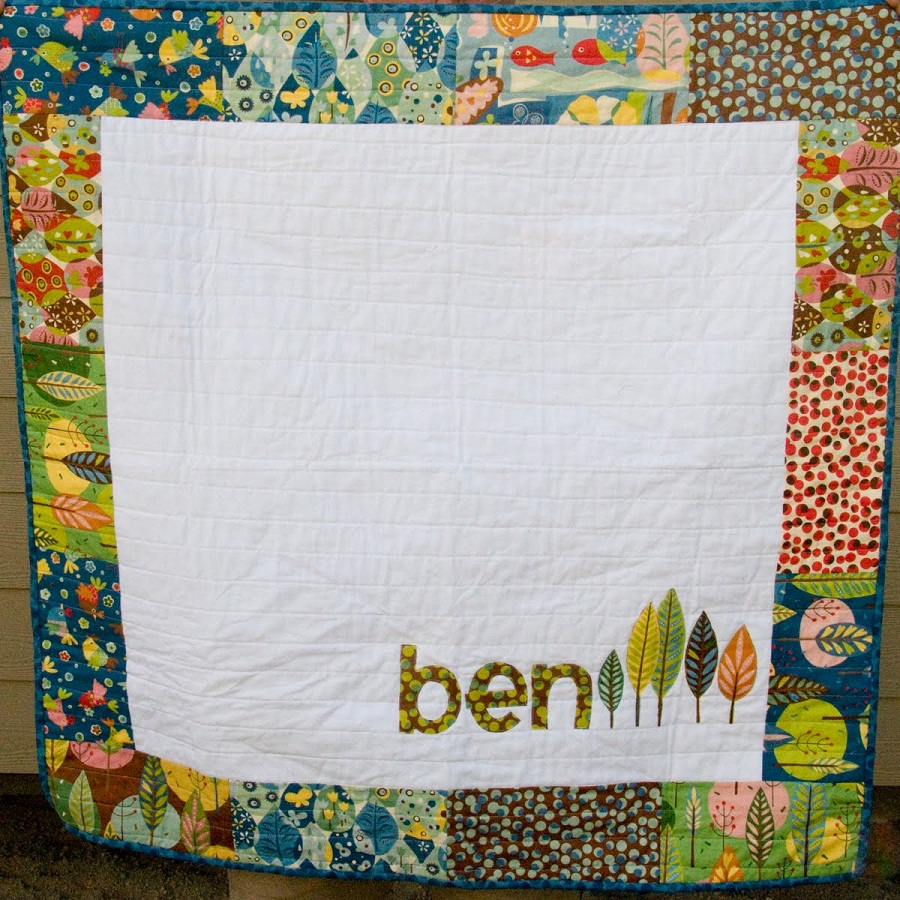 Small Personalized Baby Quilts