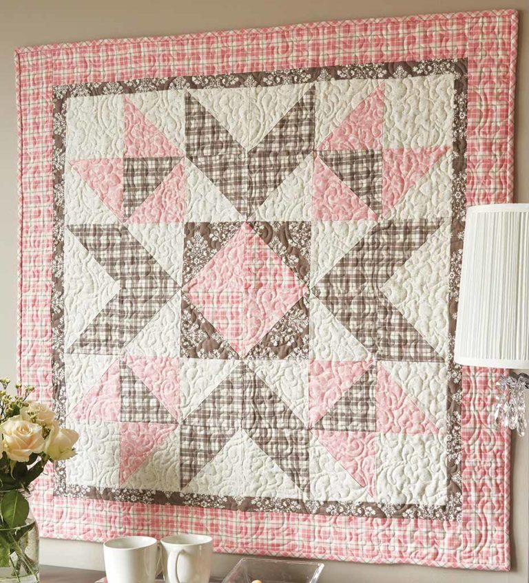 Square Baby Patchwork Quilt