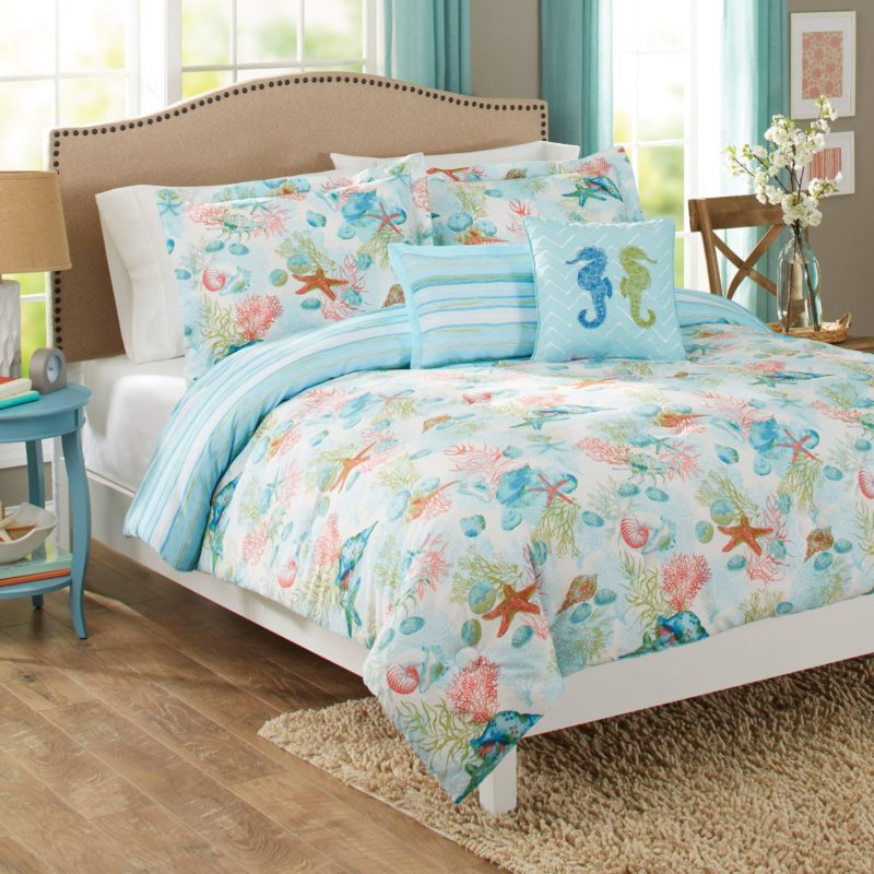 Image of: Beach Themed Comforter Sets Ideas