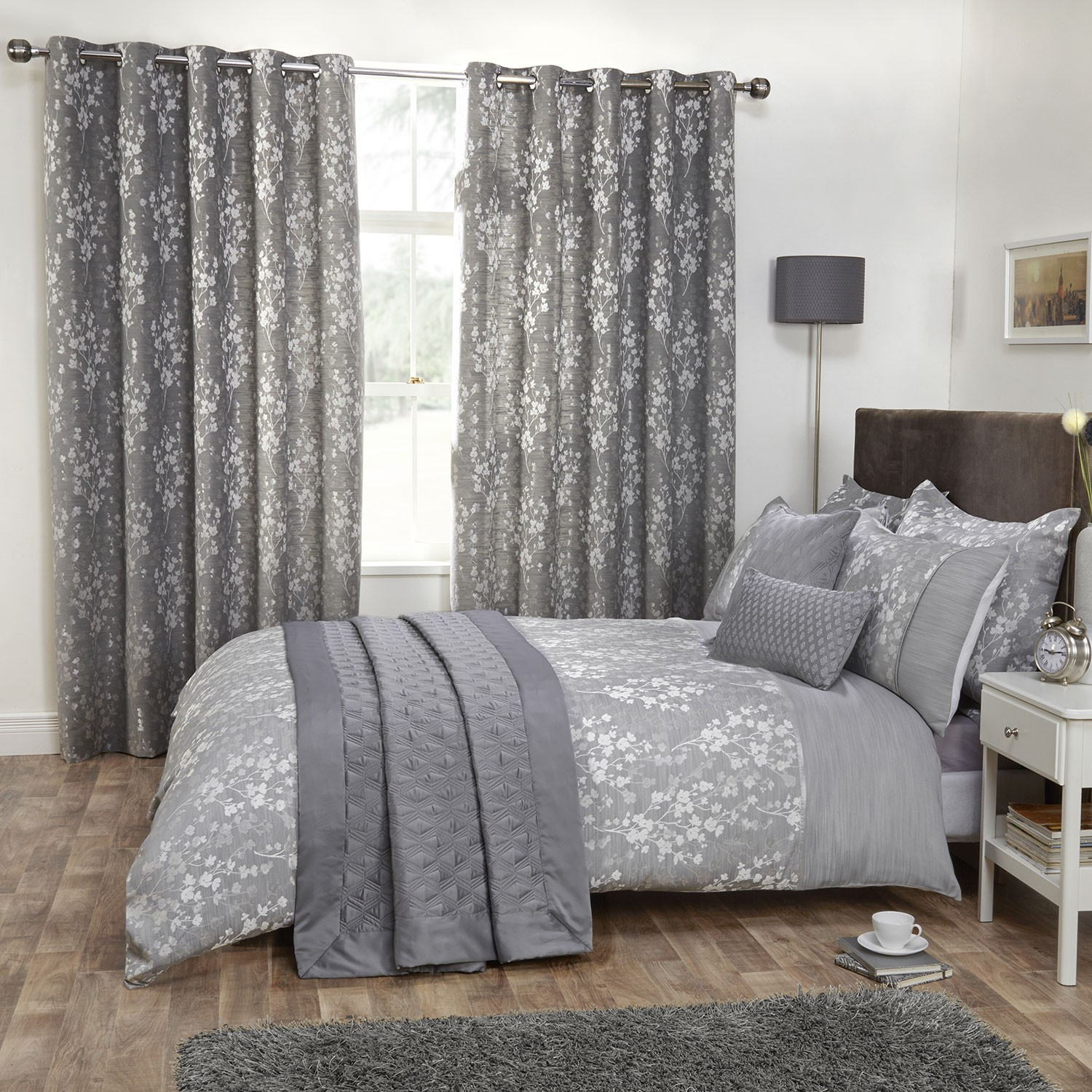Image of: Blossom Gray Bedroom Sets