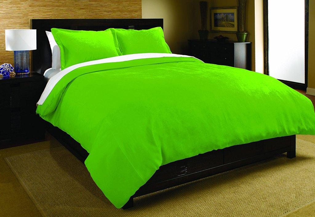 Image of: bright neon bedding