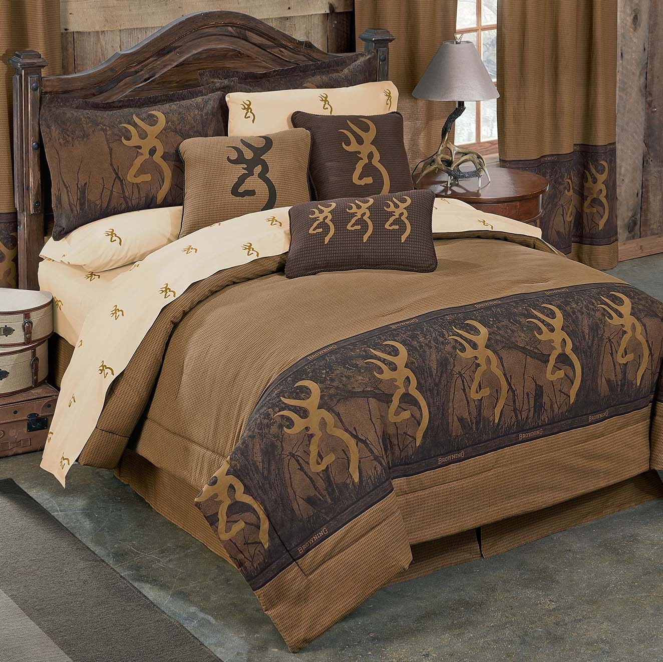 Image of: Cabin Bedding Sets Cheap
