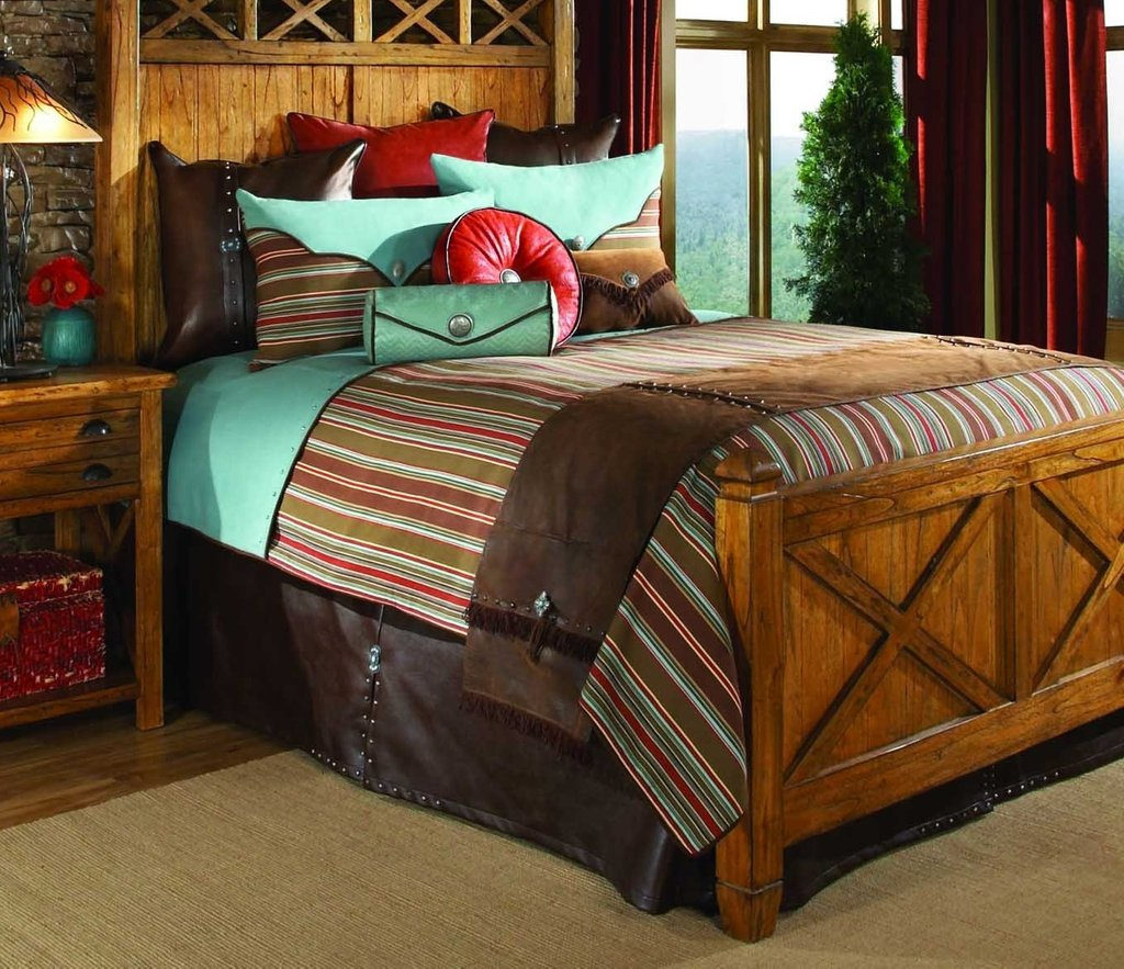 Image of: Cabin Decor Bedding Bedding Set Collection Awesome Rustic Bedding Sets