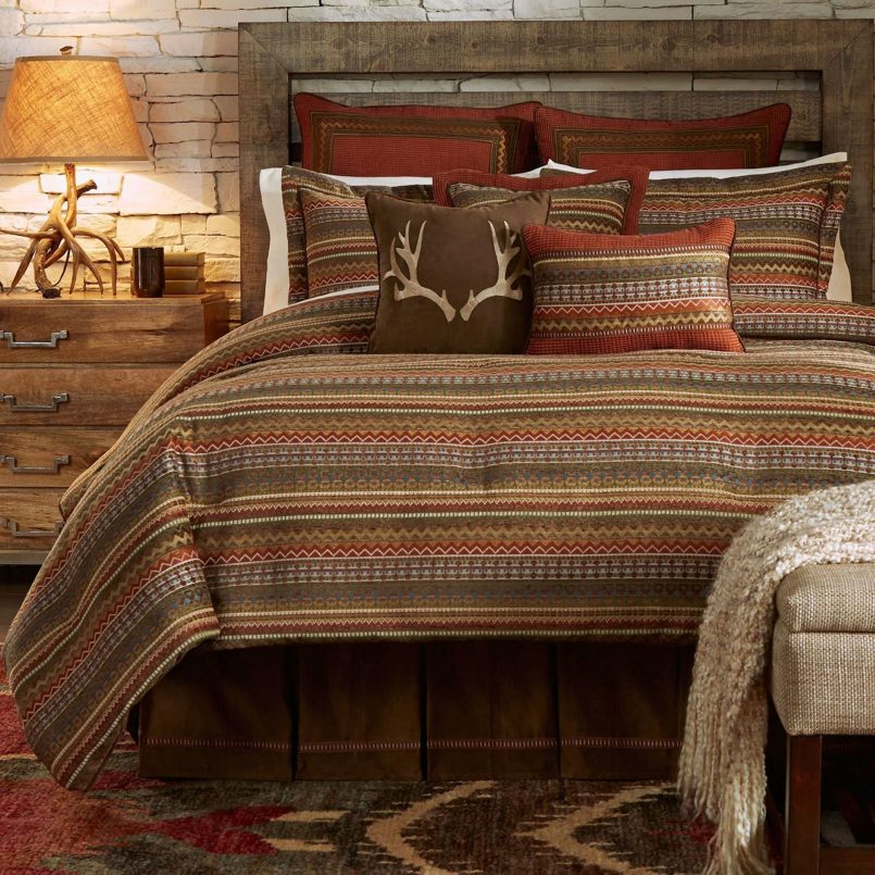 Image of: Cabin Style Bedding