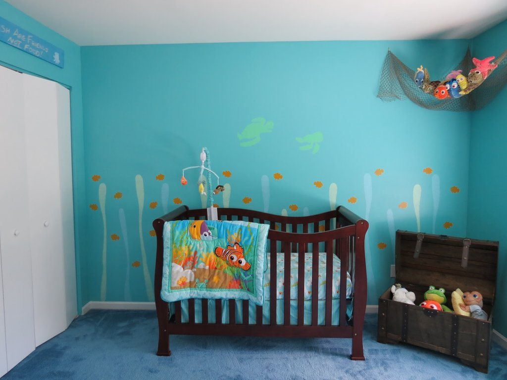 Image of: Finding Nemo Crib Bedding Disney Finding Nemo Piece Black and White Crib Bedding Set