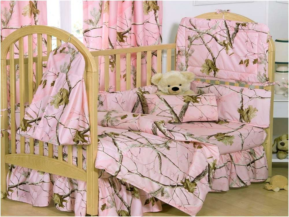 Image of: Pink Camo Baby Bedding Crib Set Home Design Remodeling What to Expect From Pink Camo Crib Bedding?