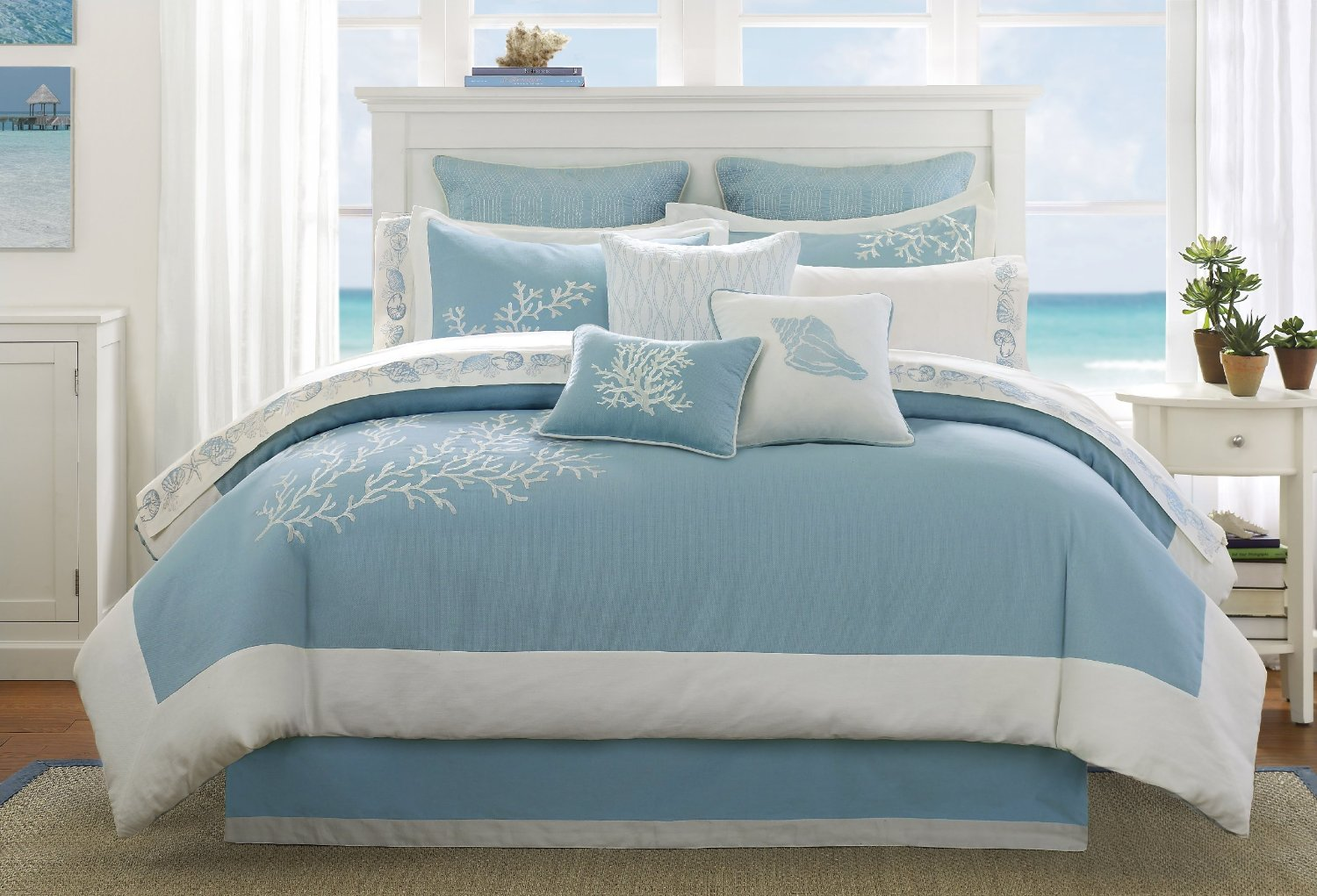 Image of: Popular Beach Themed Bedding Amazon