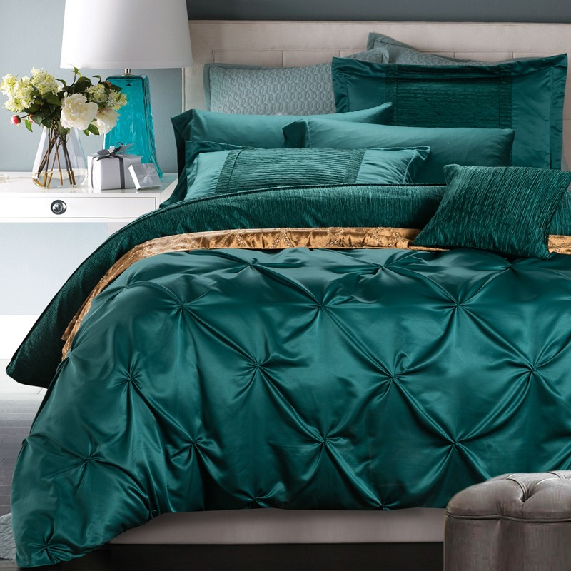Image of: Silk Duvet Design