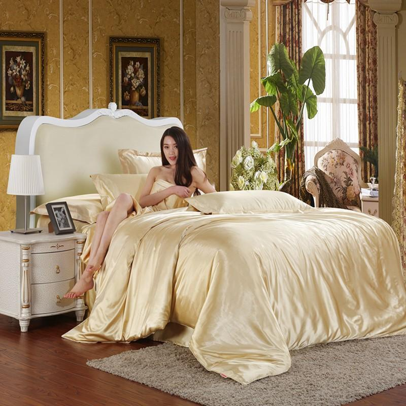 Image of: Silk Queen Comforter Sets Ideas