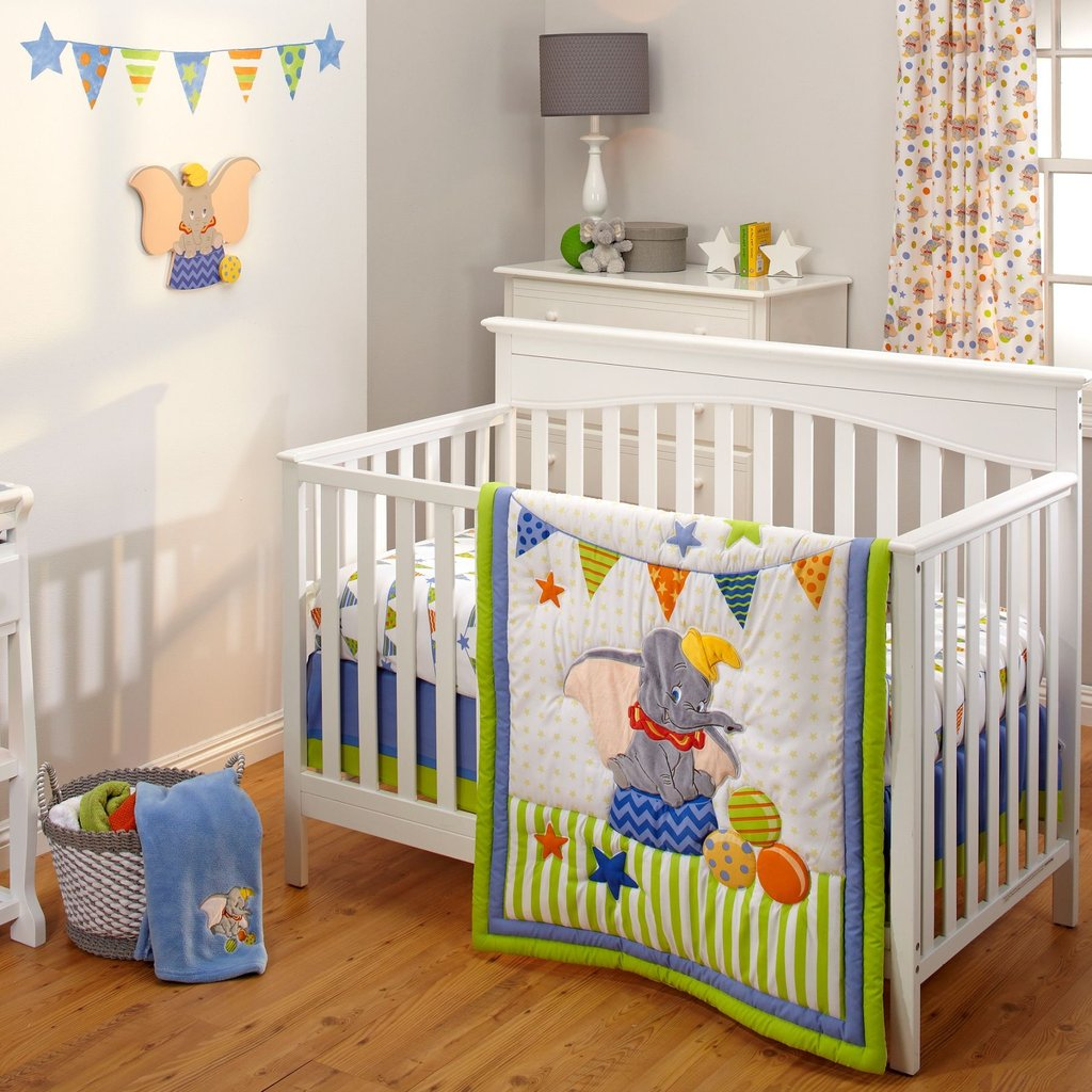 Image of: Solid Wood Crib Changing Table Bertini Pembrooke 4in1 Black and White Crib Bedding Set