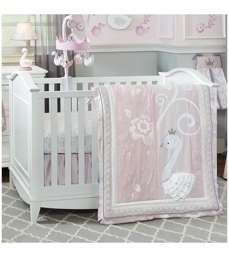 Image of: 97 Lamb Ivy Crib Bedding Lamb Ivy Signature Coral Baby Bedding and Accessories