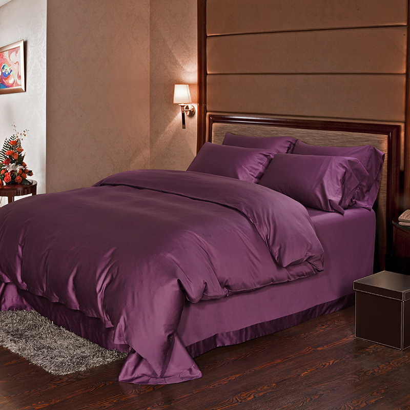Image of: Awesome Bed Sheets Queen Purple