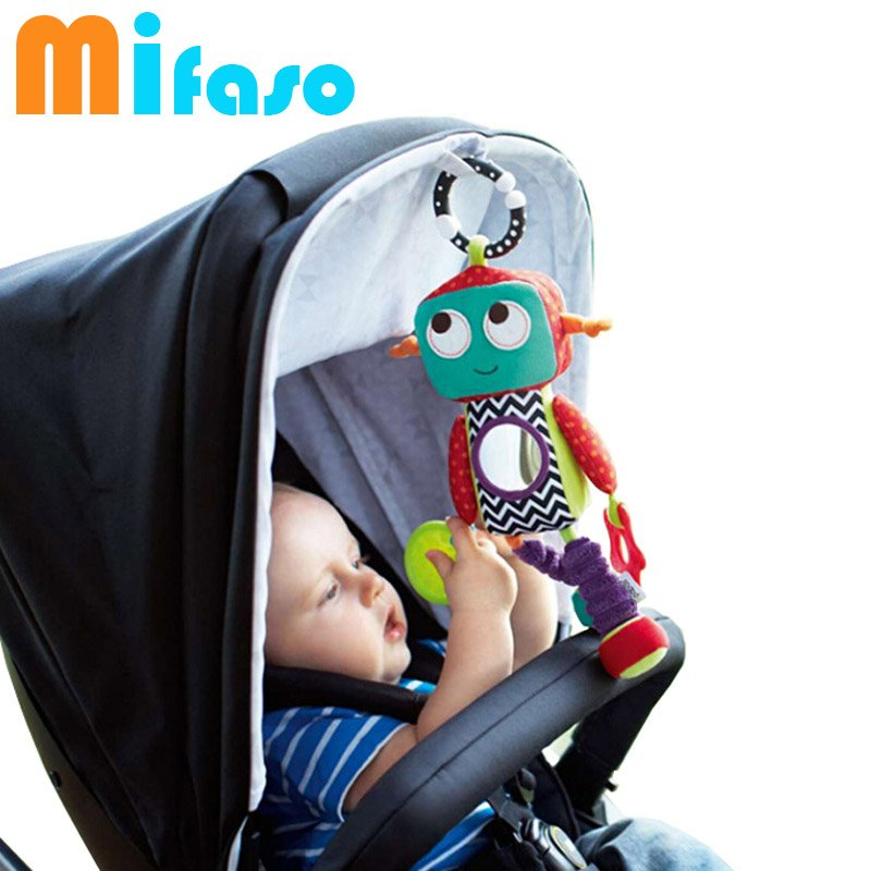 Image of: Baby Brand Activity Toy Robot Style Baby Rattle Music Themed Music Note Bed Set