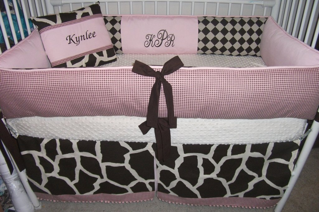 Image of: Baby Crib Bedding Set Girl House Photo Coral Baby Bedding and Accessories
