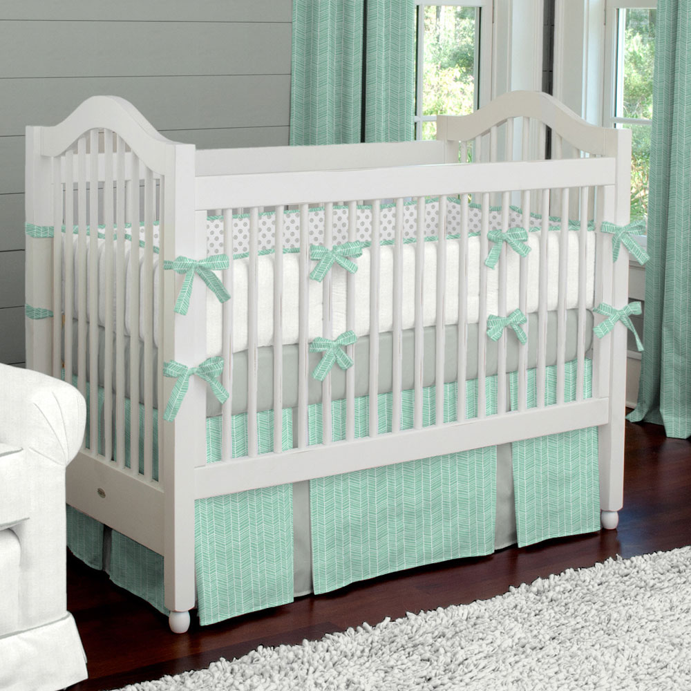 Image of: Blue Budget Baby Bedding