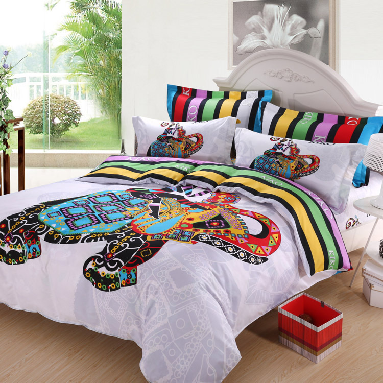 Image of: Colorful Nice Bedding Sets