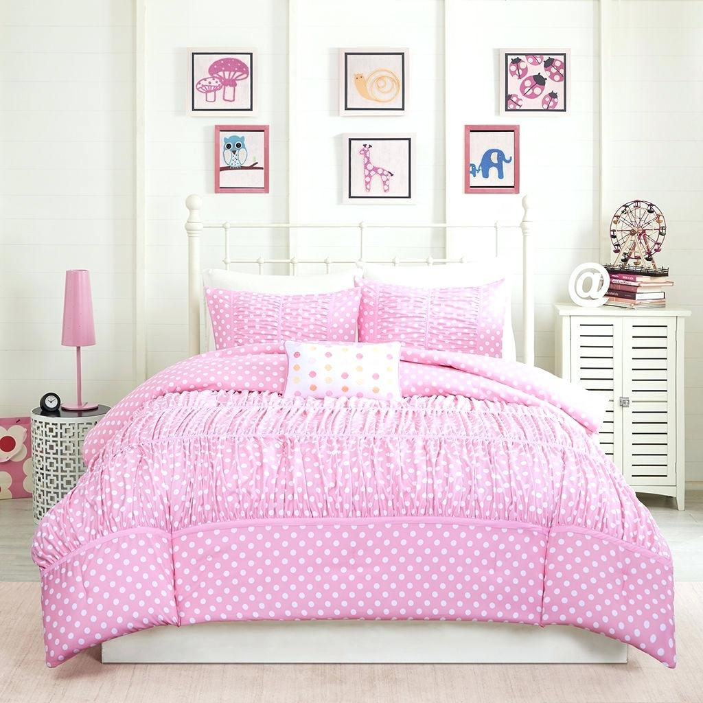 Image of: Comforter Set Twin Ideas Pink
