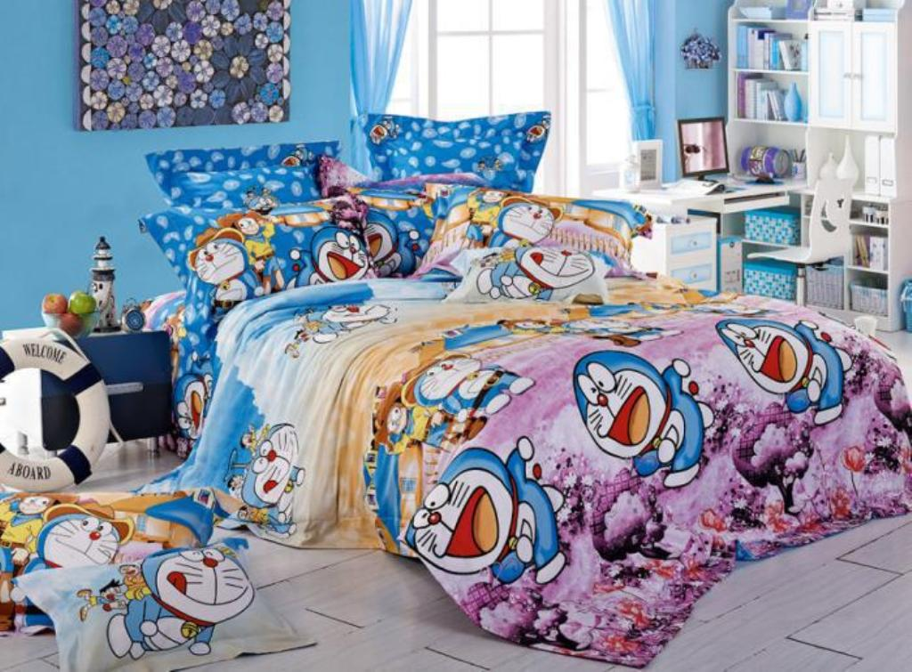 Image of: Cute Kids' Character Bedding Queen Size