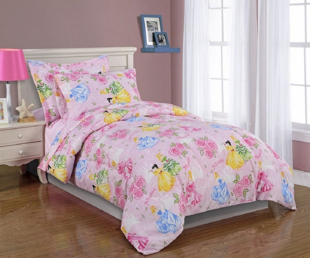 Image of: Disney Princess Bed in a Bag Twin