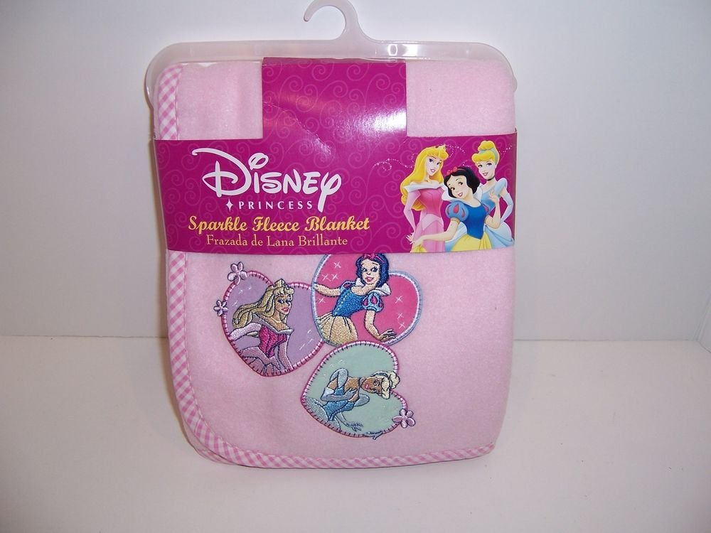 Image of: Disney Princess Princess Embroidered Fleece Blanket How to Princess Twin Bed Set