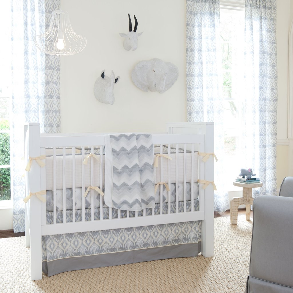 Image of: Giveaway Crib Bedding Set Carousel Design Coral Baby Bedding and Accessories