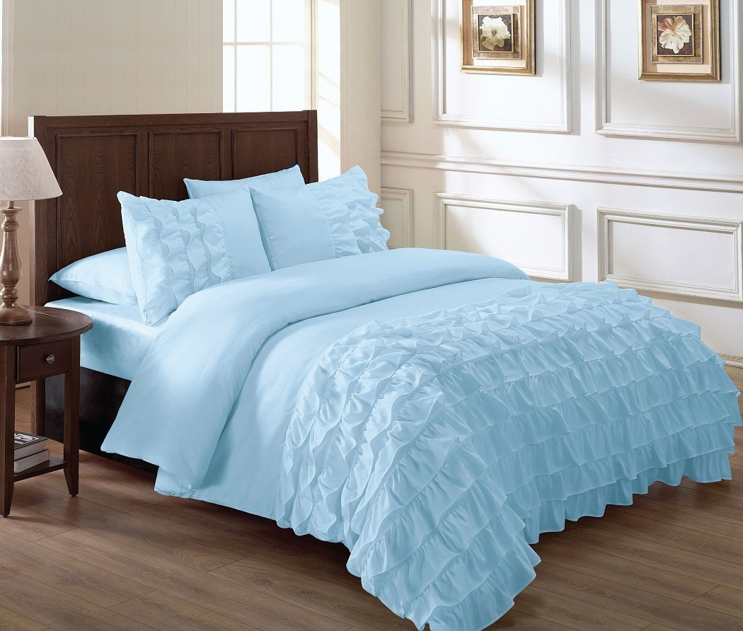 Light Blue Bed Comforters