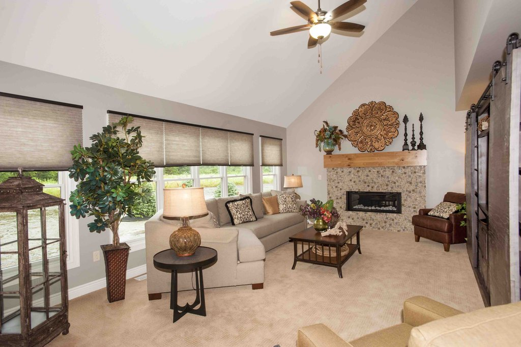 Image of: Living Room Vaulted Ceiling Living Room Mudroom Contemporary Vaulted Ceiling Living Coral Baby Bedding and Accessories