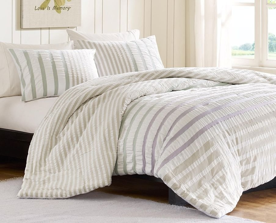 Multi Striped Full Queen Comforter Set Sutton What Absolutely Everyone Is Saying About Beachy Bedding And What You Need To Do