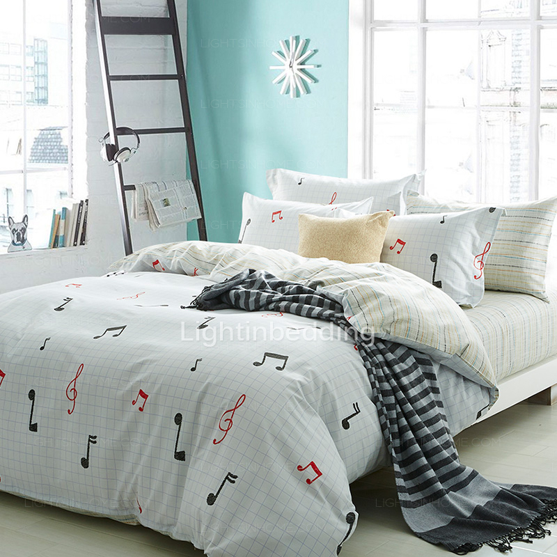 Image of: Music Bedding Twin