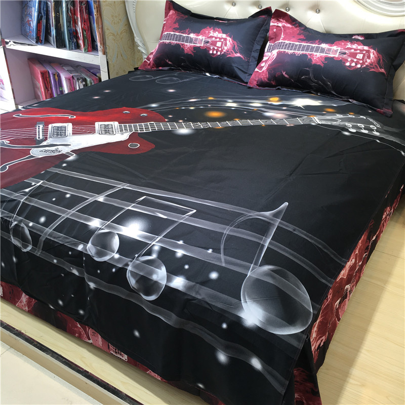 Image of: Music Note Bedding Full Size
