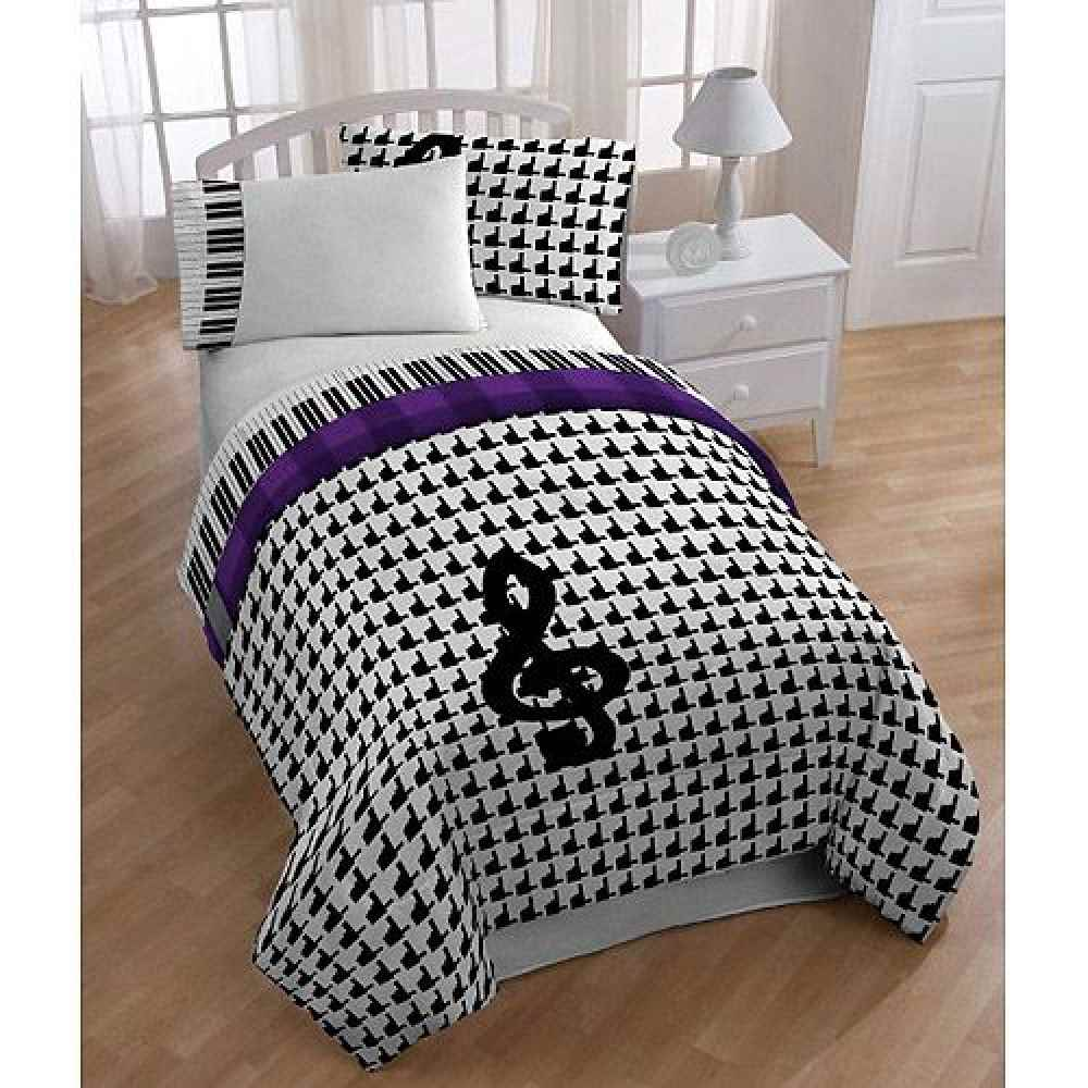 Image of: Music Note Bedroom Set
