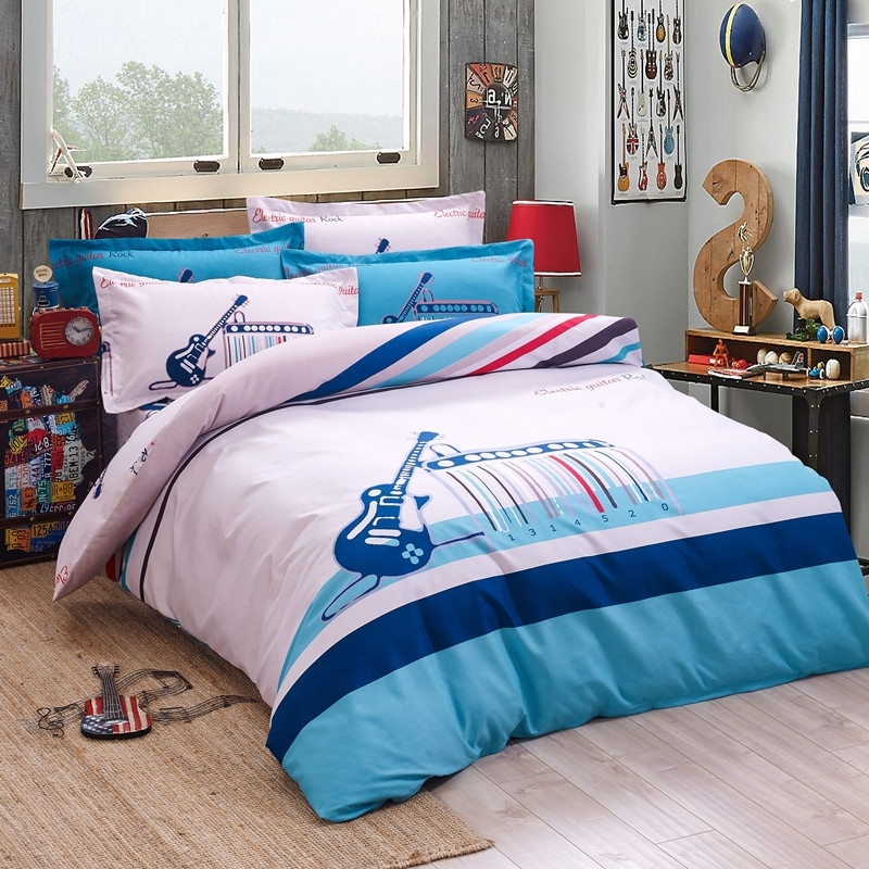 Image of: Musical Notes Bedding